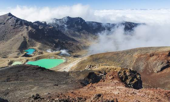 Emerald Lakes - Tongariro National Park