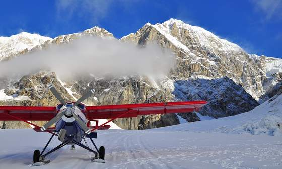 Glacier flightseeing, Talkeetna